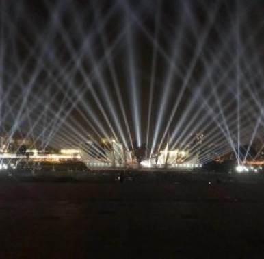 上海光束灯